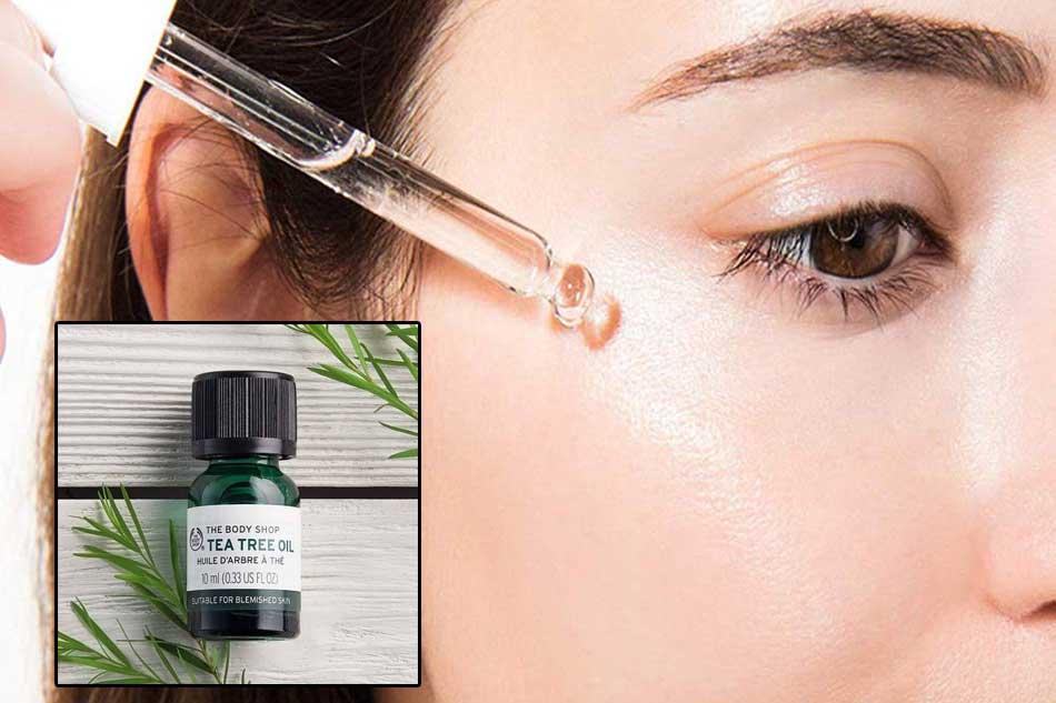 Tinh chất serum trị mụn ẩn The Body Shop Tea Tree Oil